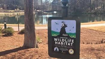 Hechenbleikner Lake designated a Certified Wildlife Habitat