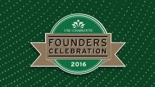 UNC Charlotte Founders Celebration 2016