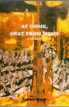 At home, away from home. A memoir by Tanure Ojaide, Frank Porter Graham Professor of Africana Studies