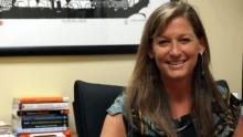 Photo of social work professor, Susan McCarter