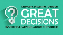 Great Decisions Lecture Series