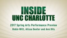 Inside UNC Charlotte webcast