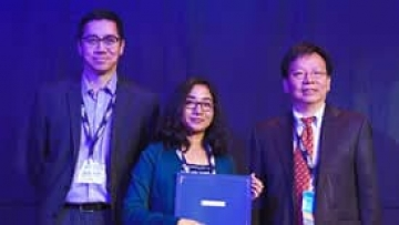 Wahida Nasrin receives a Best Paper Award
