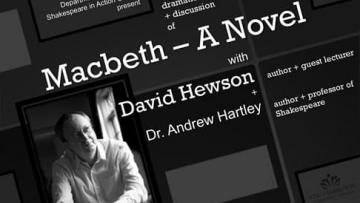 Hartley, Hewson to discuss reimagining 'Macbeth'