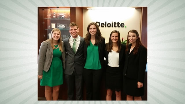 Belk College accounting students win regional competition
