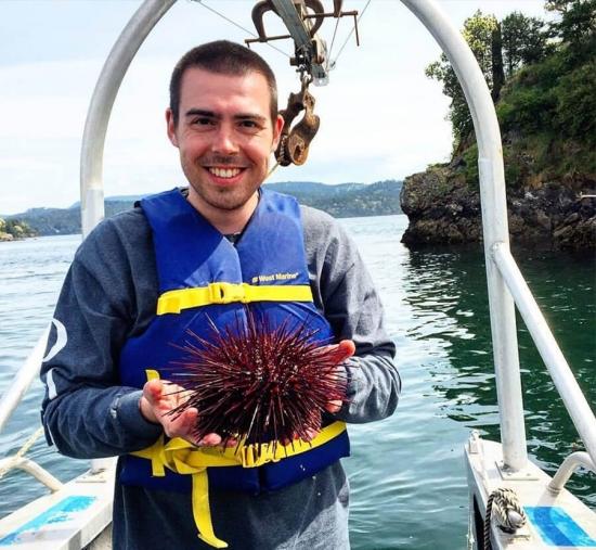 Tyler Carrier, Biology Ph.D. student